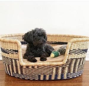 dog bed basket